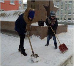 Участие в краевой акции «Обелиск»