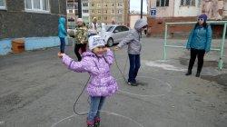 Участие  во Всероссийской акции «Займись спортом!  Навстречу комплексу ГТО»