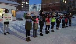Учащиеся нашей школы приняли участие во Всероссийской акции по безопасности дорожного движения