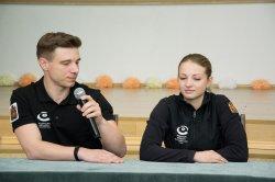 Встреча с участниками Мирового тура по керлингу «Arctic Cup 2018»