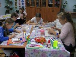 Работа профильного отряда школьников